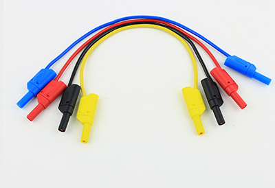 cables de prueba tipo banana
