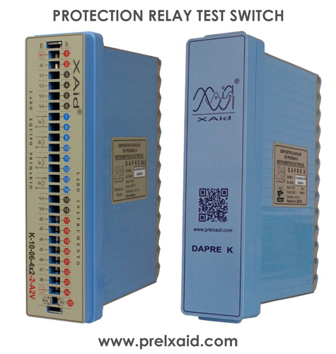 protection relay test block dapre k