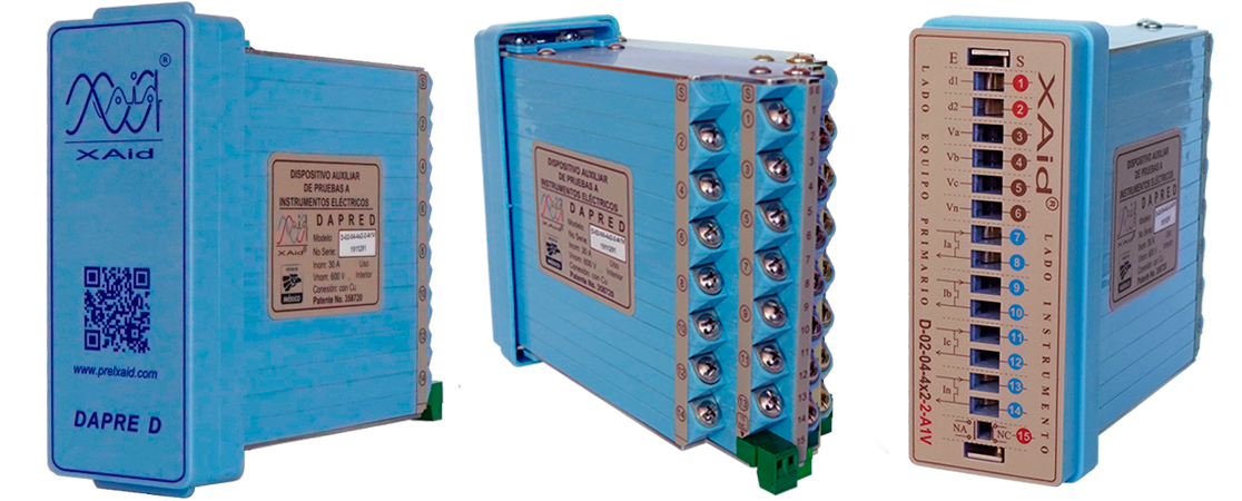 protection relay test block