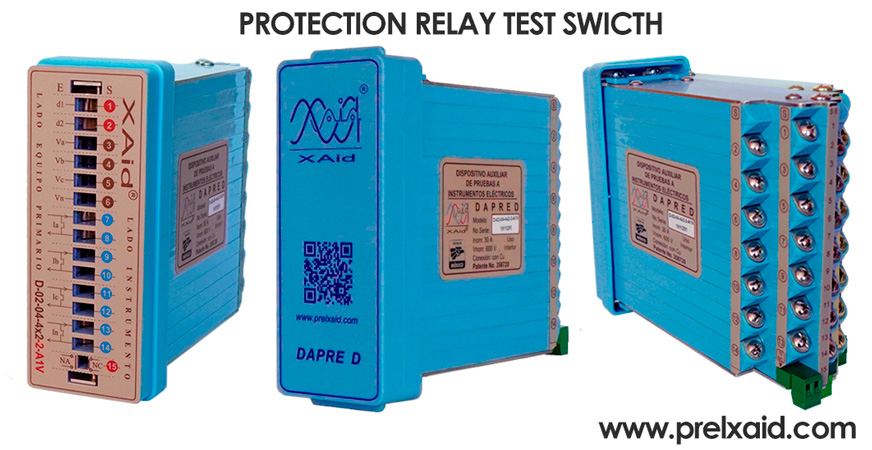 protection relay test block 3 dapres