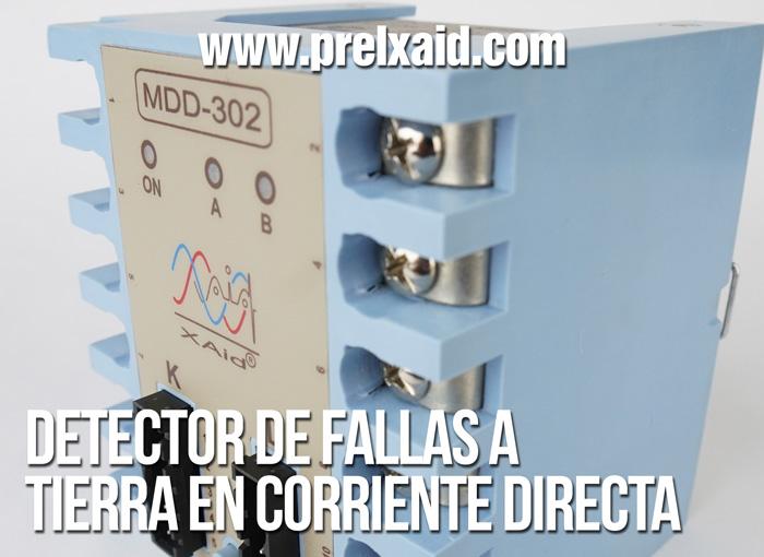 detector de fallas a tierra en corriente directa 00