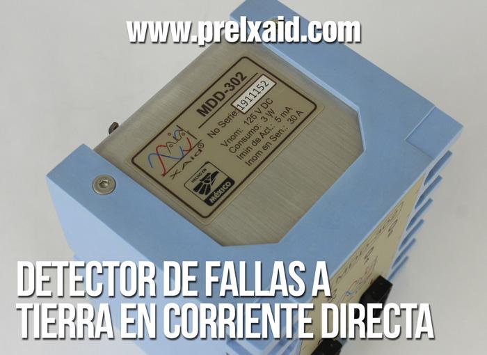detector de fallas a tierra en corriente directa 04