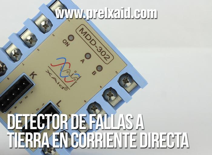 detector de fallas a tierra en corriente directa 05