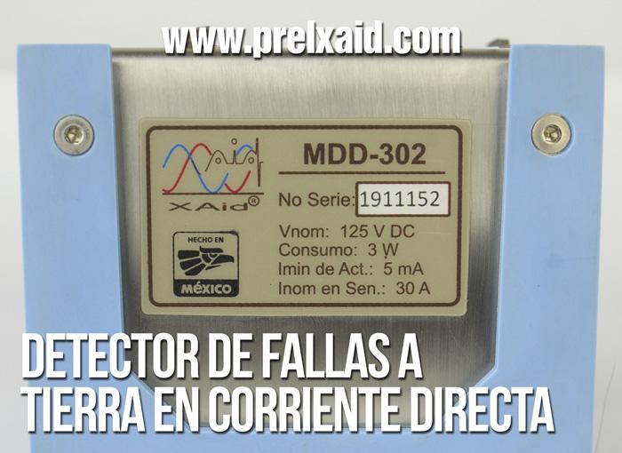 detector de fallas a tierra en corriente directa 06